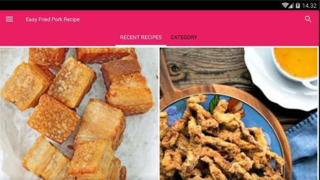 Easy Fried Pork Recipe screenshot 6