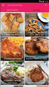 Easy Fried Pork Recipe poster