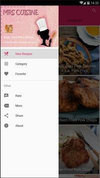 Easy Fried Pork Recipe screenshot 1