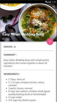 Easy Italian Soup Cook Recipe screenshot 3