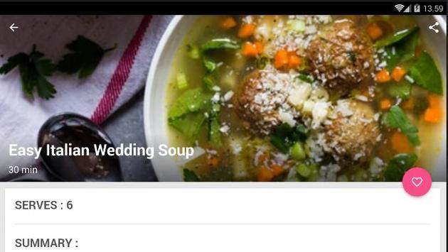 Easy Italian Soup Cook Recipe screenshot 5