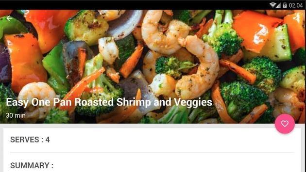 Easy One Pan Shrimp Cook Recipe screenshot 4