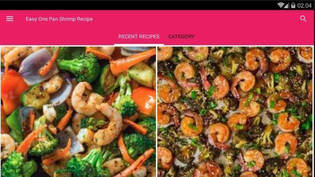 Easy One Pan Shrimp Cook Recipe screenshot 6