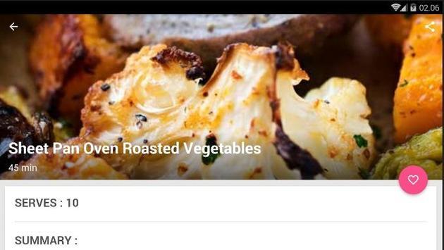 Easy One Pan Vegetable Cook Recipe screenshot 4