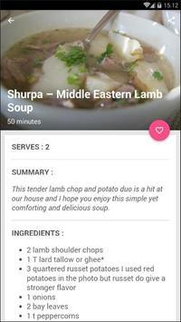 Easy Lamb Soup Cook Recipe screenshot 3