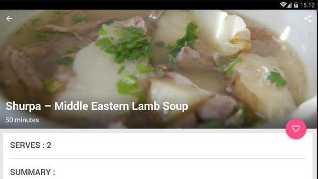 Easy Lamb Soup Cook Recipe screenshot 5