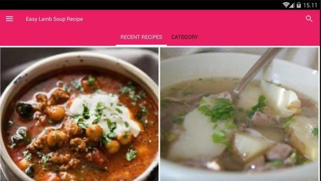 Easy Lamb Soup Cook Recipe screenshot 6
