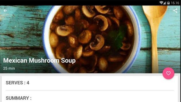 Easy Mushroom Soup Cook Recipe screenshot 4