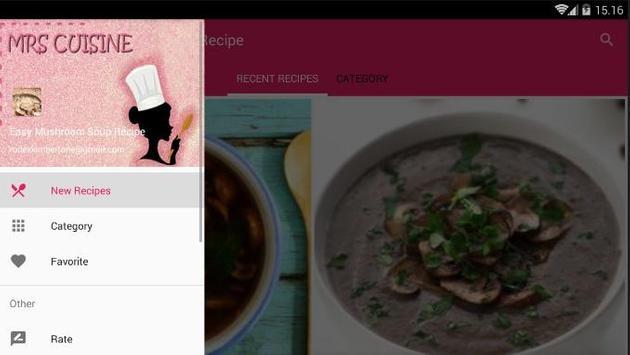 Easy Mushroom Soup Cook Recipe screenshot 7
