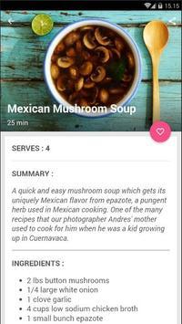 Easy Mushroom Soup Cook Recipe screenshot 1