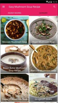 Easy Mushroom Soup Cook Recipe screenshot 3