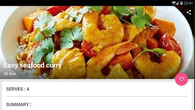 Easy Seafood Curry Cook Recipe screenshot 6