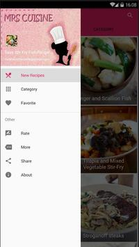 Easy Stir Fry Fish Cook Recipe screenshot 1