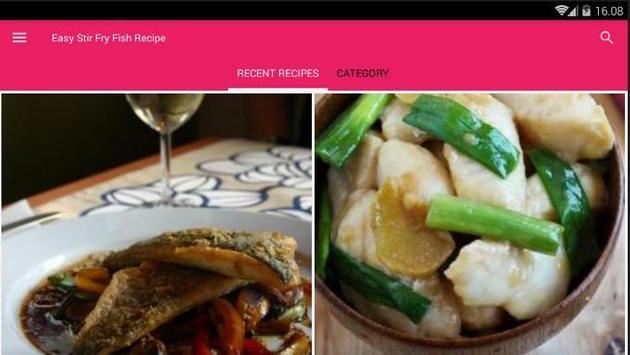 Easy Stir Fry Fish Cook Recipe screenshot 6