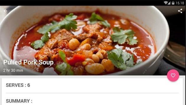 Easy Pork Soup Cook Recipe screenshot 4