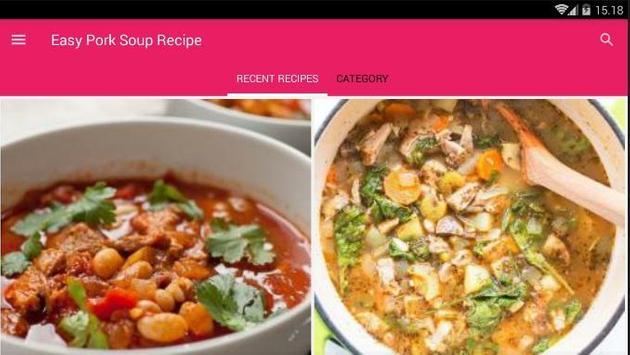 Easy Pork Soup Cook Recipe screenshot 6