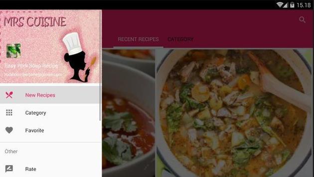 Easy Pork Soup Cook Recipe screenshot 7