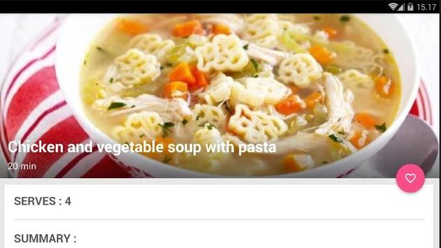 Easy Pasta Soup Cook Recipe screenshot 5