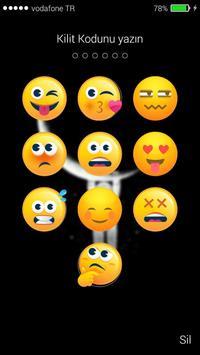 Emoji Kilit Ekranı poster