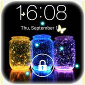 Butterfly locksreen icon