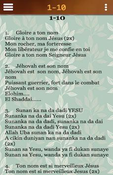French and Hausa Worship poster