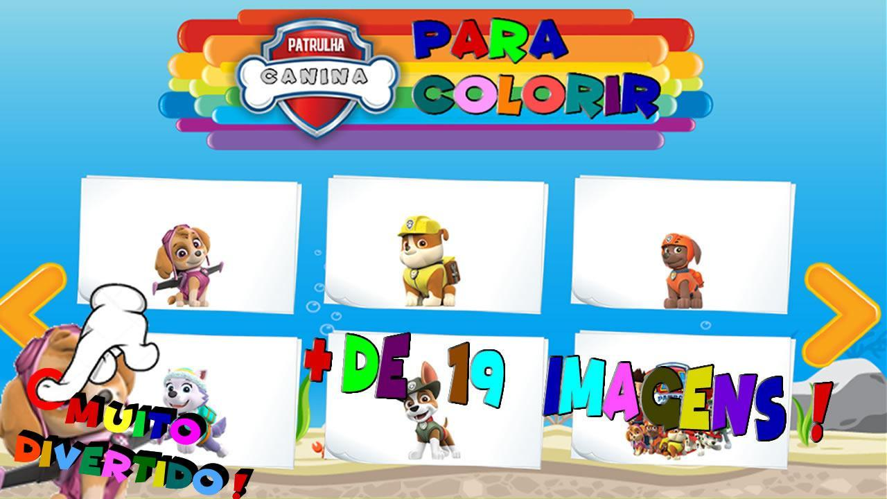 Pintar Patrulha Canina For Android Apk Download