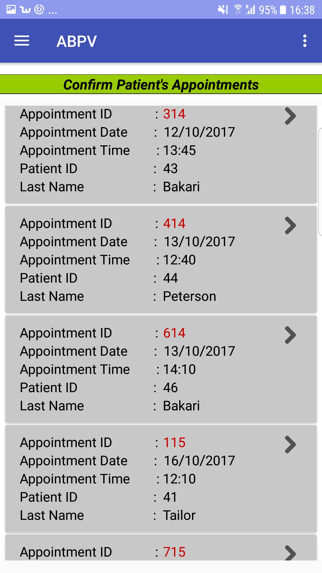 ABPV (Appointment Booking & Prescription Viewer) for Android - APK