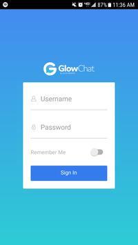 GlowChat poster