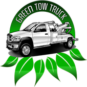 Green Tow Truck Partner icon