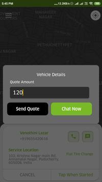 Green Tow Truck Partner screenshot 2