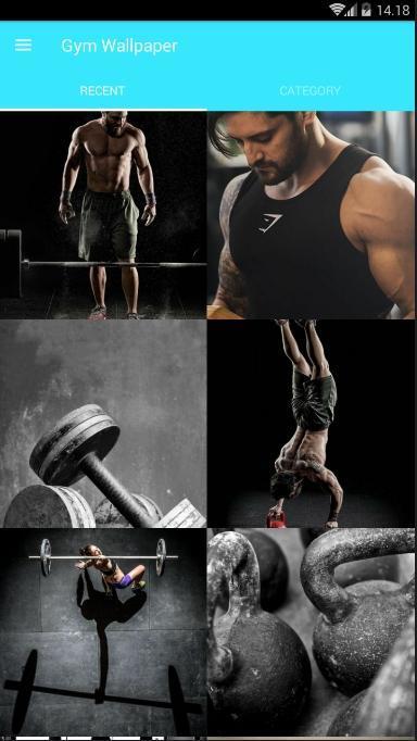 Gym Wallpaper poster