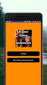 Kunci Gitar Indonesia poster
