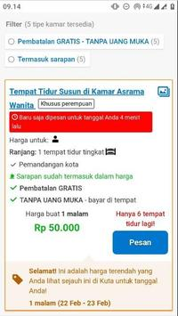 Hotel Kuta Murah screenshot 2