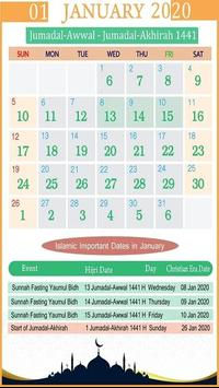 Islamic Calendar screenshot 4