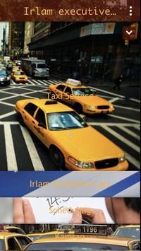 Irlam executive cars poster