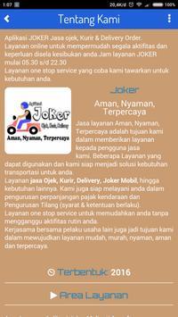 Aplikasi Joker screenshot 1