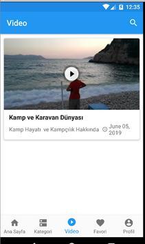 Kamp ve Karavan Dünyası screenshot 2