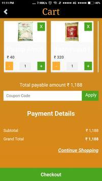 K MART Easy grocery shopping kirana market price screenshot 14