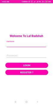 Lal Badshah poster