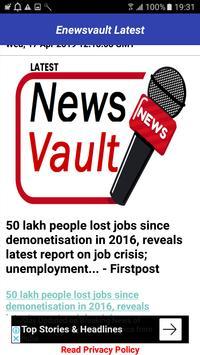 eNewsvault Latest - Latest News,Updated News تصوير الشاشة 2