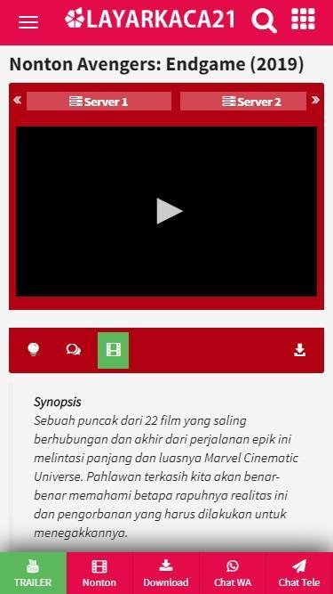 Layarkaca21 For Android Apk Download
