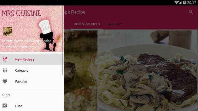 Lemon Thyme Pork Chops Recipe screenshot 4
