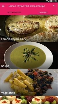 Lemon Thyme Pork Chops Recipe screenshot 2