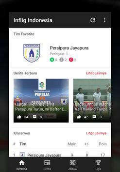 Info Liga Indonesia dan Timnas Indonesia 2018 poster