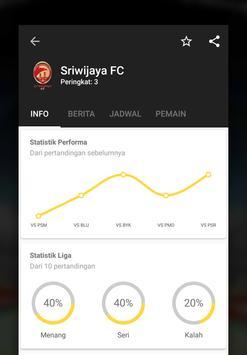 Info Liga Indonesia dan Timnas Indonesia 2018 screenshot 1