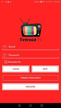 Tetroid TV - Watch Live Sports and Entertainments screenshot 4