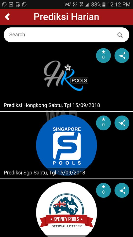 Wap Togel For Android Apk Download
