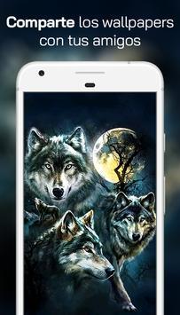 Lobo Fondos de Pantalla スクリーンショット 3