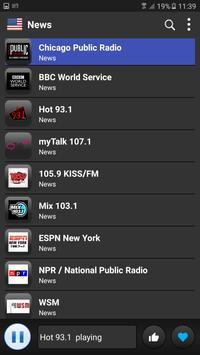 USA Radio screenshot 3