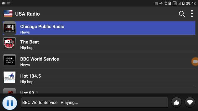 USA Radio screenshot 4